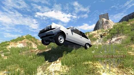 VAZ-Lada 2108 Satélite para BeamNG Drive
