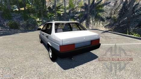 VAZ-Lada 21099 Satélite para BeamNG Drive