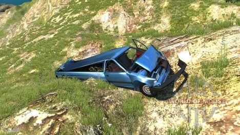 Ibishu Limousine para BeamNG Drive