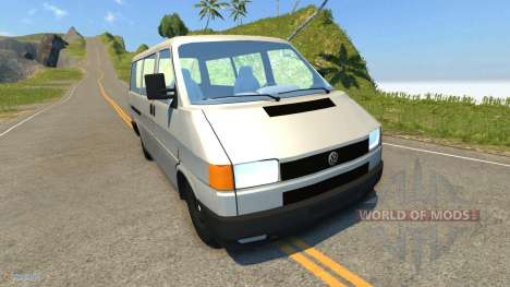 Volkswagen Transporter T4 para BeamNG Drive