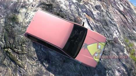 Ibishu Covet Angry Birds para BeamNG Drive