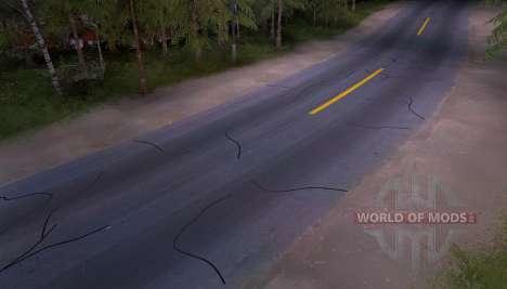 Nuevo asfalto para Spin Tires