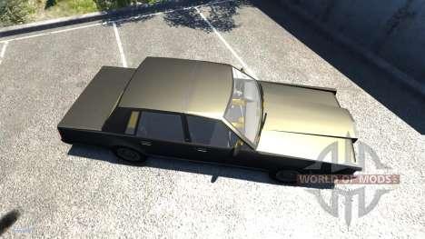 Lincoln Town Car 1985 para BeamNG Drive
