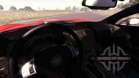 Chevrolet Corvette ZR1 2010 para BeamNG Drive