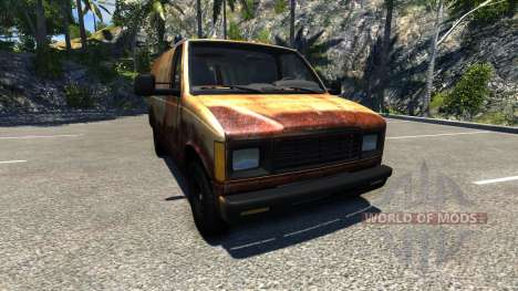 Gavril H-Series Rusty para BeamNG Drive