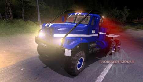 Pak y KrAZ camiones para Spin Tires