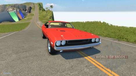 Dodge Challenger para BeamNG Drive