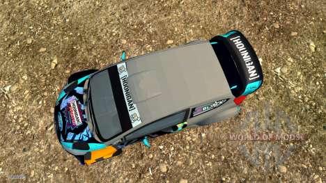 Ford Fiesta para BeamNG Drive