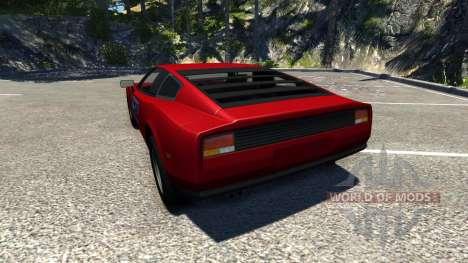 Civetta Bolide Ferrari Red para BeamNG Drive