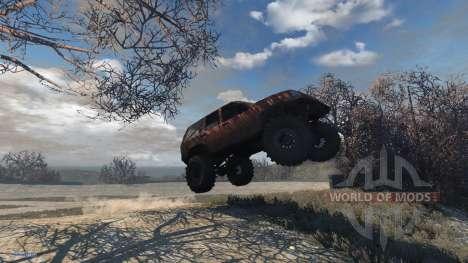 Jeep Grand Cherokee Trail para BeamNG Drive