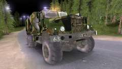Camión KrAZ Camo v2