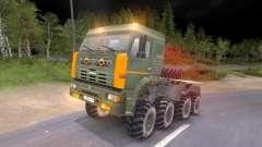 Pak y KrAZ camiones