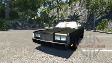 Lincoln Town Car 1985 para BeamNG Drive