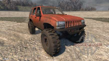 Jeep Grand Cherokee Trail para BeamNG Drive