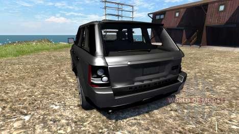 Range Rover Sport para BeamNG Drive