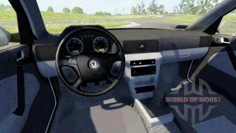 Skoda Octavia 2.0 para BeamNG Drive