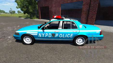 Ford Crown Victoria NYPD para BeamNG Drive