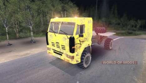 Pak camiones v8.0 para Spin Tires