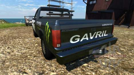 Gavril D-Series ME Edition para BeamNG Drive