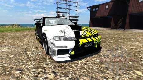 Nissan Silvia S14 para BeamNG Drive