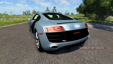 Audi R8 V10 para BeamNG Drive