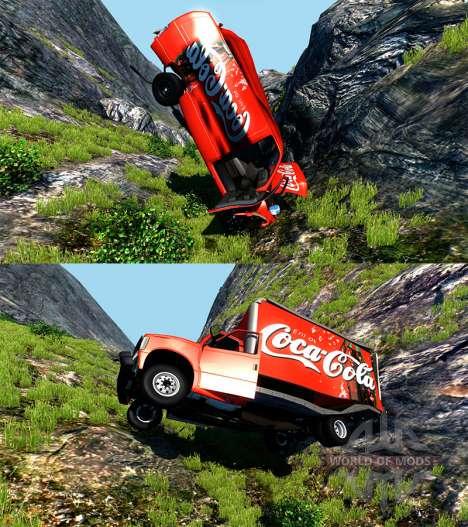 Gavril H-Series Coca-Cola para BeamNG Drive