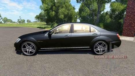 Mercedes-Benz S65 AMG 2012 para BeamNG Drive