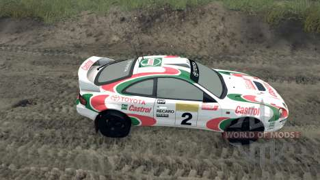 Toyota Celica GT Four ST205 Rally para Spin Tires