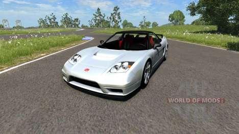 Honda NSX-R para BeamNG Drive