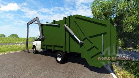Gavril H-Series Garbage Truck para BeamNG Drive