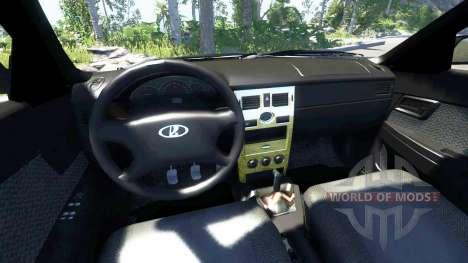 ВАЗ-2170 Instalado Antes para BeamNG Drive