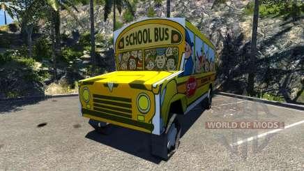 Busfag 2013 para BeamNG Drive