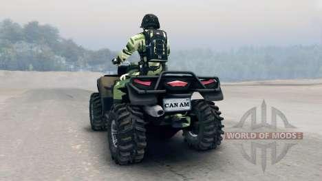 ATV Outlander v3 para Spin Tires