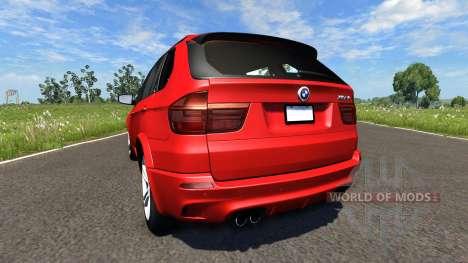 BMW X5M Red para BeamNG Drive