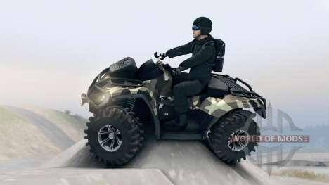 ATV Outlander v1 para Spin Tires
