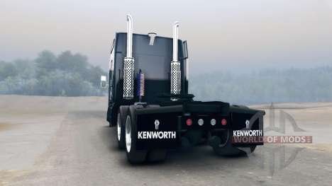 Kenworth T660 para Spin Tires