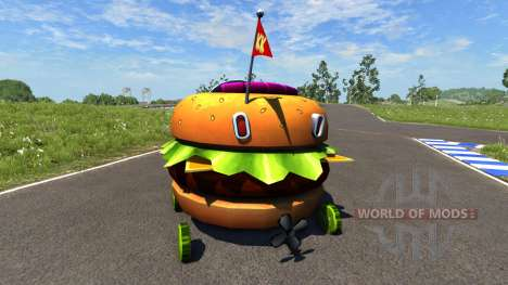 DSC Patty Wagon para BeamNG Drive