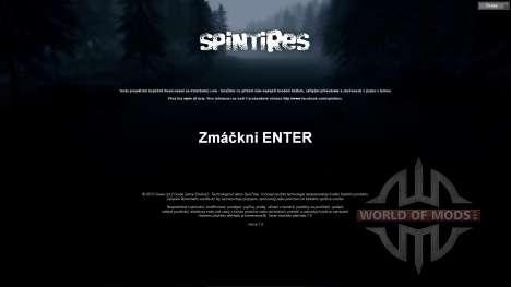 Traducción al checo para Spin Tires