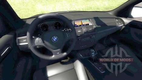 BMW X5M Orange para BeamNG Drive