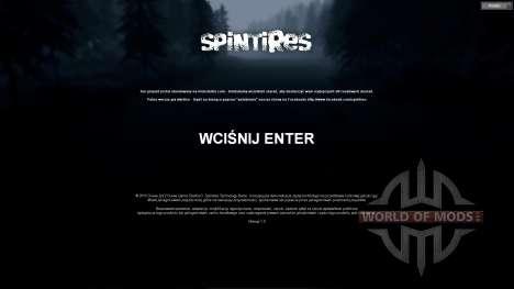 La traducción al polaco para Spin Tires