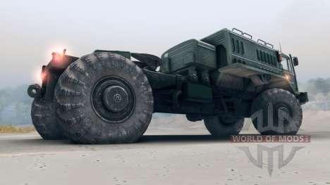MAZ-535 4x4 para Spin Tires