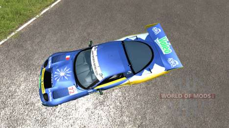 Chevrolet Corvette C5-R Valeo LeMans para BeamNG Drive