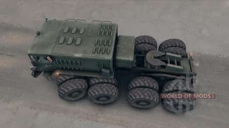 MAZ-535 para Spin Tires
