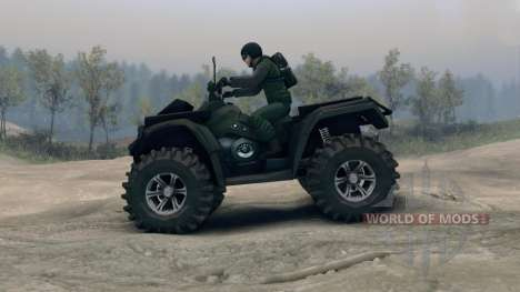 Polaris Sportsman 4x4 para Spin Tires