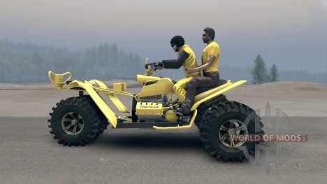 Triciclo v2 para Spin Tires