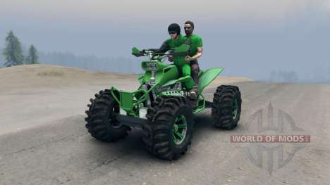 ATV v2 para Spin Tires