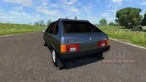 VAZ-2109 para BeamNG Drive