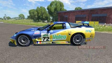 Chevrolet Corvette C5-R Valeo para BeamNG Drive