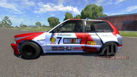 Ibishu Covet MRi RE para BeamNG Drive