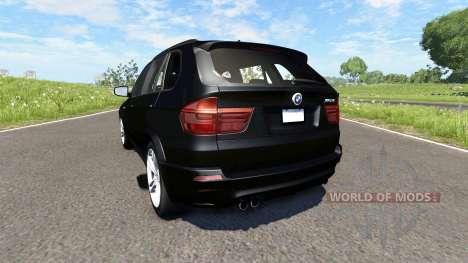 BMW X5M Black para BeamNG Drive